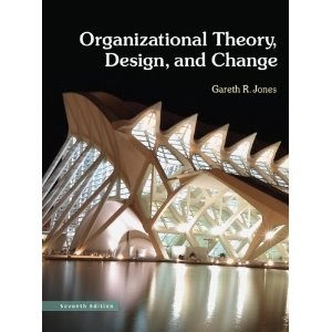 organization theory and design daft 3rd edition pdf