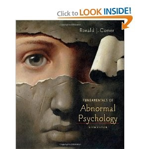fundamentals of abnormal psychology by ronald j comer pdf